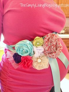 Simply Living : Pink and Teal Baby Shower