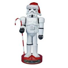 Kurt S. Adler, 11 in. Storm Trooper with Candy Cane Nutcracker, SW6131L at The Home Depot - Tablet