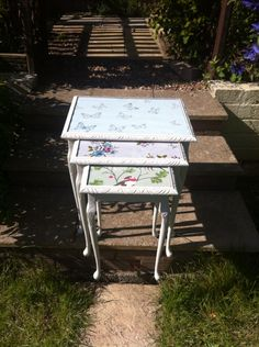 Nest of tables upcycled