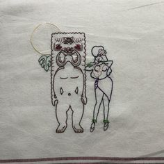 Tiki Hula by StitchinTimeStudio on Etsy