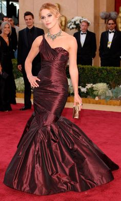 Keira Knightley Confirmed Her Place Among The Fashion Elite At The 78th Academy Awards Wearing Vera Wang 2006