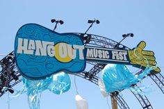 Hangout Feat! Fest with fun kids and amazing bands in Gulf Shores, Alabama!
