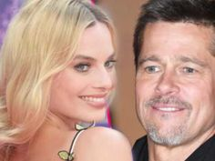 Brad Pitt moving on  with Margot Robbie