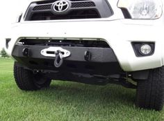 Off Road Winch Mount Bumper for Toyota Tacoma Tacoma Bumper, Tacoma Truck, Tacoma Accessories, Vehicle Accessories, Winch Mounting Plate, 2012 Toyota Tacoma, Winch Bumpers, Truck Mods, Monster Trucks