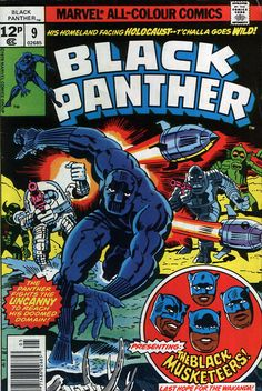 Black Panther Vol. 1 Marvel Comics by Jack Kirby, he first appeared in Fantastic Four (July