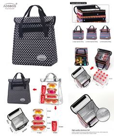 Visit to Buy  New Portable Thermal Lunch Bags for Women Men Multifunction  Large Capacity d5a36e50785ff