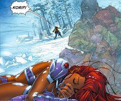 Robin Starfire, Teen Titans Starfire, Nightwing And Starfire, Teen Titans Love, Teen Titans Fanart, Superman Story, Robin The Boy Wonder, Dc Couples, Daughter Of Poseidon