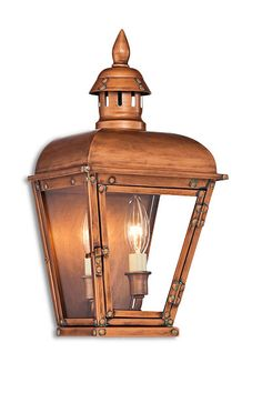 Cast a wide glow over your outdoor party with this copper-finished steel fixture that has an old-world look. Find it at @lampsplus