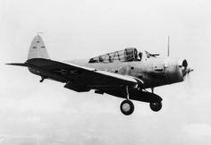 The first production U.S. Navy Douglas TBD-1 Devastator (BuNo 0268) pictured during flight testing at Naval Air Station Anacostia, Washington D.C. (USA), in 1937