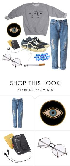"""""""Untitled #193"""" by chill-outfits ❤ liked on Polyvore featuring Vans, E.vil and Westinghouse"""