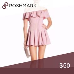 """FEW MODA OFF THE SHOULDER ROMPER PINK SIZE:M $118 FEW MODA OFF THE SHOULDER ROMPER PINK SIZE:M $118  FEW MODA OFF THE SHOULDER ROMPER  -RETAIL:$118  -SIZE: M  -COLOR: PINK  -STYLE: ROMPER  -MATERIAL: POLYESTER  -MEASUREMENTS: APPROX LENGTH 32"""" INSEAM 3""""  -CONDITION: BRAND NEW WITH TAGS NO DEFECT   -POSITIVE FEEDBACK IS GREATLY APPRECIATED FEW MODA Dresses Mini"""
