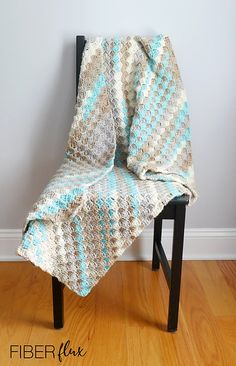 Ravelry: Ocean Drive Blanket pattern by Fiber Flux / Jennifer Dickerson