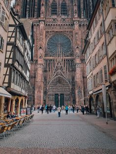 Strasbourg Cathedral, Alsace, France by Matt Northam