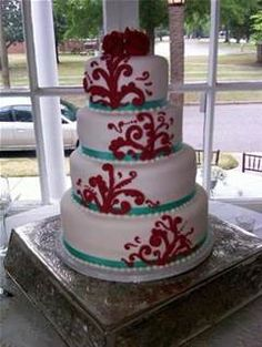 Tiffany Blue and Red Wedding Theme - Bing Images