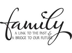 Family a link to...