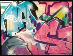 17 octobre 14. Current show N.A.ST.Y  Parisien de souche et éternel passionné par le mouvement hip hop, figure incontournable du street art depuis 1988, c'est en puisant dans la bible du street art « Subway Art » que N.A.S.T.Y commence à faire grandir son art de la rue... www.streetartgalerie.com  #streetartgalerie #nasty #streetartparis #graffiti #streetartiste #streetart #arturbain