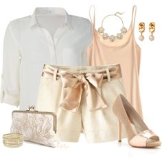 """Blushing in Summer"" by kginger on Polyvore"