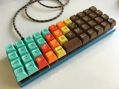Planck keyboard with 1976 keycaps.