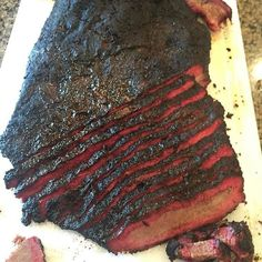 This Traeger brisket recipe is foolproof, it has simple ingredients & smokes low & slow. This brisket method is comprised of a culmination of several BBQ Pit Masters across the U. Beef Sirloin Tip Roast, Corned Beef Brisket, Sirloin Tips, Beef Tenderloin, Beef Tips, Rib Roast, Beef Jerky, Traeger Recipes, Roast Recipes