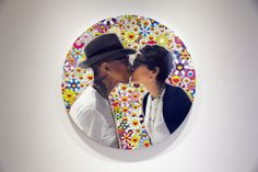 "A Look Inside Pharrell Williams' ""G I R L"" Exhibition at Galerie Perrotin AND I SEE MURAKAMI <3"