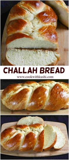 Challah Bread is a soft and super delicious braided, Jewish bread that you must not miss to try out if you really love bread and baking. This truly was a blockbuster Bread Braided) Kosher Recipes, Baking Recipes, Jewish Bread, Jewish Food, Challah Bread Recipes, Banana Bread Recipes, Easy Desserts, Dessert Recipes, Hanukkah Food