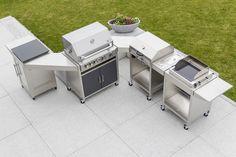Outdoor Küche Edelstahl Zubehör : Die 24 besten bilder von outdoorküche grill garten und feuer in