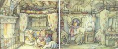 Было раннее летнее утро. Примроуз проснулась, быстро оделась и на цыпочках прокралась на кухню. Ее мама была уже там и укладывала в небольшую сумку дождевой плащ и…