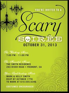 Scary Soiree:Bright Green