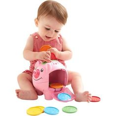 Fisher-Price Laugh and Learn Count and Learn Piggy Bank - Walmart.com