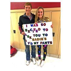 how I asked my boyfriend to Sadies this year!#sadies #sadiesaskingidea