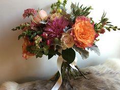 bridal bouquet: $250