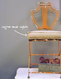 Vintage Iron Garden Chair Clutter Savannah Georgia Supportlocal