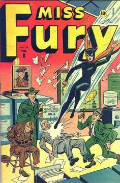 Miss Fury Comics (Volume)