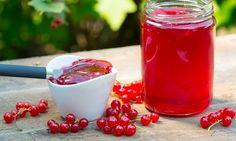 Vinbärsgelé på vita, röda eller svarta vinbär