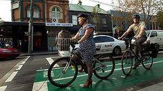 Sydney cyclists.