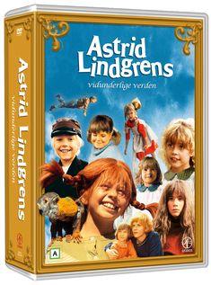 Astrid Lindgrens Vidunderlige verden (23 disc)