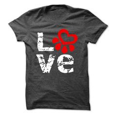 Bully Mart - T-SHIRT - Love Paw, $25.00 (http://stores.molossermart.com/bully-peepz/t-shirt-love-paw/)