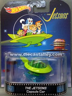 Die Cast Alley - Hot Wheels -1/64 Retro Entertainment (Release B) - The Jetsons Capsule Car, $5.99 (http://www.diecastalley.com/hot-wheels-1-64-retro-entertainment-release-b-the-jetsons-capsule-car/)