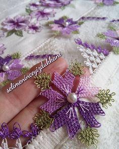O zaman detay gelsin #elemegi #sabir #sukur #dua #moraski #elemegi #igneoyasiaski #hobiaski @10marifet @oyasepeti #ceyizaski #needlework #followforlike #begenenellerdertgormesin #mutluaksamlar Needle Lace, Needlework, Diy And Crafts, Elsa, Embroidery, Crochet, Flowers, Hafiz, Dots