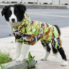 Batman Pet Dog Puppy Costume Raincoat Festival Jumpsuit Waterproof Cosplay US
