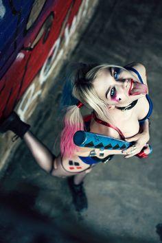 Zlata Glazunova is Harley Quinn