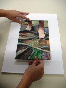 framing canvas panel