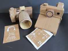 Mr. Bob's Middle & High School Art Room: High School Cardboard Sculptures.