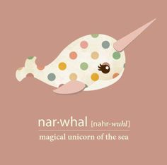 I don't like this whole unicorn thing with narwhals..:c