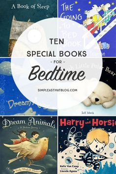 Bedtime is a perfect time to decompress and spend some calm, quality time together. These sweet, soothing books can help little ones settle in and prepare for sleep.