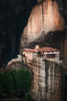 Meteora monastery at dawn by Christos Andronis on 500px