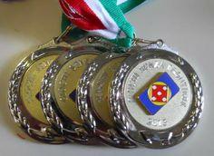 Le Medaglie d'Argento per la Squadra 2ª Classificata