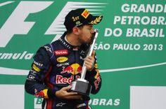 F1: Vettel remporte le Grand Prix du Brésil 2013