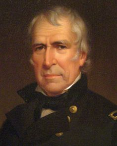 US twelfth president - Zachary Taylor