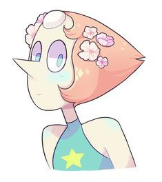 Pearl, arguably my favorite Steven Universe character Chibi, Perla Steven Universe, Bird Mom, Tumblr Drawings, Girl Drawings, Pearl Steven, Fanart, Universe Art, Universe Images